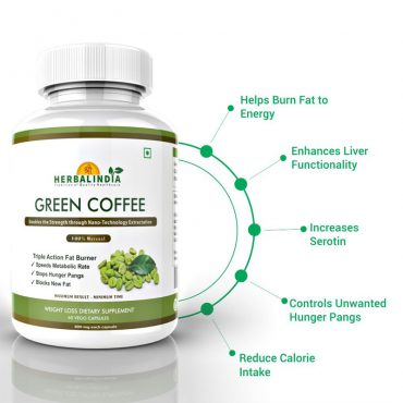 Green Coffee Bean Extract – 5 Bottles
