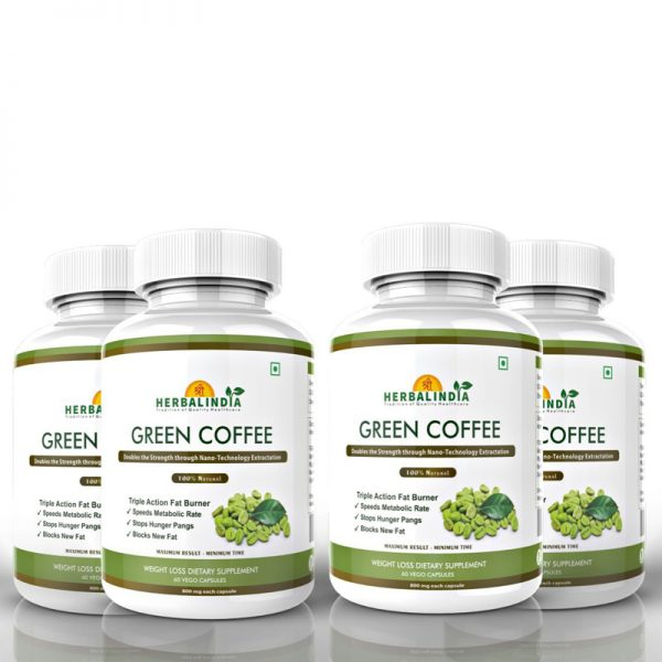 Green Coffee – 4 Bottle