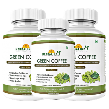 Green Coffee Bean Extract – 3 Bottles