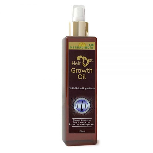 Shree Herbal India Hair Treatment 60 Capsules+Hair Growth Oil 100% Natural Ingredient  (100 ml)